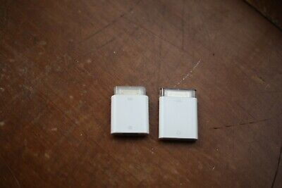 Apple SD Card And USB To 30 Pin Male Adapters Ipad Dock Connector Used Genuine • 2.99£