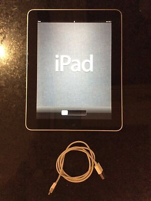 Apple IPad 1st Gen. 32GB, Wi-Fi, 9.7in - Black With Charger • 19.99£
