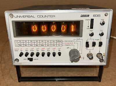 RACAL Universal Counter 835 With Nixie Tube Display • 10.50£
