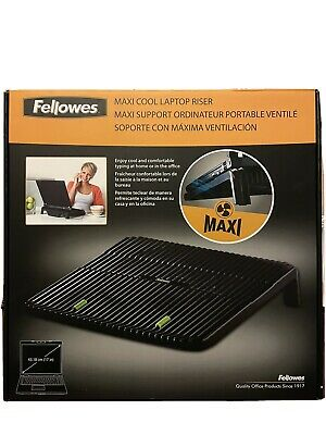 Fellowes Maxi Cool Laptop Riser CRC80189 • 35£