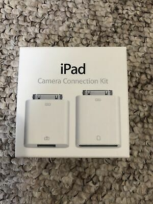 Genuine Apple Ipad Camera Connection Kit Used But Good Working Order  • 8£