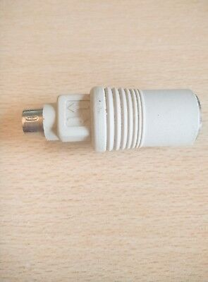 PS/2 Adapter To AT Keyboard - 6 Pin PS/2 Male To 5 Pin Din AT Female • 5.75£