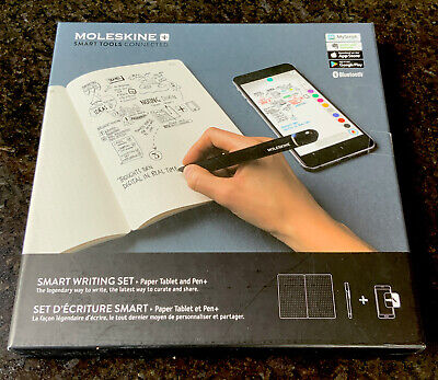 Moleskine Smart Writing Set Never Used. Comes With Brand New Ruled Paper Tablet. • 11.50£