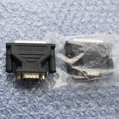 2 X D-type 25 Pin F To 9 Pin M Adaptor Connectors RS232 160-0485-01 • 1£