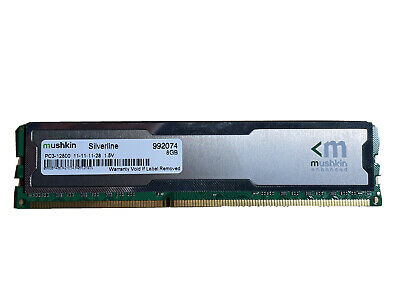 Mushkin Silverline 8gb Ddr3 12800 MHz • 1£