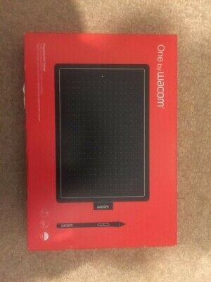 Wacom One CTL-672 Graphic Tablet - Black/Red • 20£