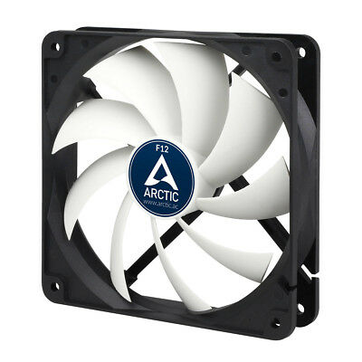 Arctic Cooling F12 120mm 12cm PC Case Fan, 1350 RPM, 53CFM, 3 Pin  • 7.57£