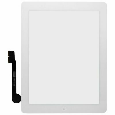 Touch Screen Assembly For Apple IPad 3 White Replacement Adhesive Digitizer UK • 23.30£