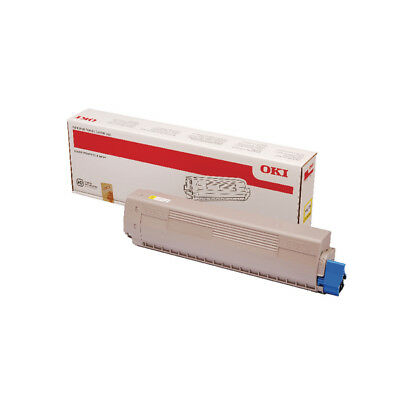 Oki MC873 Yellow Toner 10000 Pages 45862814 • 183.68£