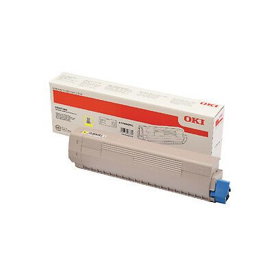 Oki C833 Yellow Toner 843 10k 46443101 • 270.64£