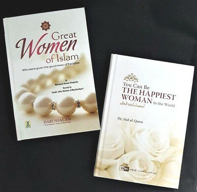 You Can Be The Happiest Woman In The World / Great Women Of Islam - 2 Books -HB • 18.99£