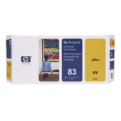 HP 83 Yellow UV Printhead And Cleaner C4963A • 238.18£