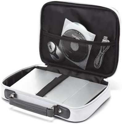 Dicota Base XX Mini Netbook Tablet Carry Case With Handle Laptop Bag 11.6  White • 5.99£
