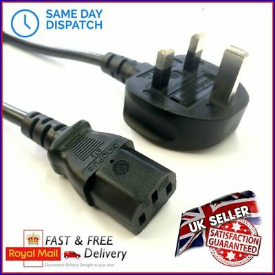 UK Power Cable Mains Cord Wire Lead Plug 2 Metres Brother Printer Series Laser • 8.99£