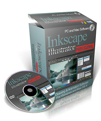 Inkscape - Professional Drawing And Illustration Software For Windows & Mac OS-X • 3.95£