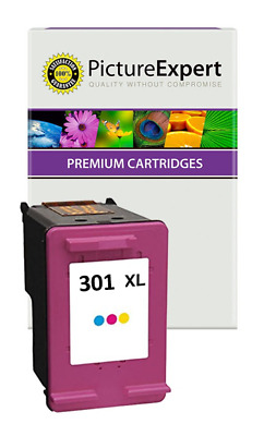 Text Quality 301XL High Capacity Colour Ink Cartridge For HP Envy 5534 • 11.49£