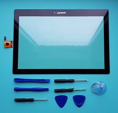 OEM Lenovo TAB 3 TB-X103F Tablet Touch Screen Digitizer Front Glass Lens Black • 16.99£