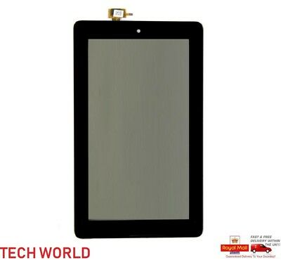 New Replacement Amazon Fire 7 2015 SV98LN Digitizer Touch Screen Glass Lens UK • 8.49£
