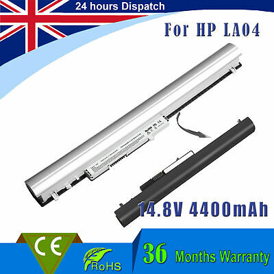 8Cells Laptop LA04 Battery For HP Pavilion 14 15 Notebook PC 728460-001 UK • 14.99£