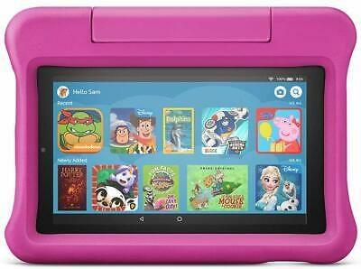Fire Kids Edition Tablet, 7  Display, Wi-Fi, 16 GB, Pink Kid-Proof Case UK • 98.99£