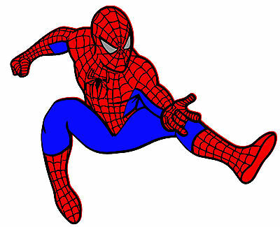 Spiderman Colored Vinyl Decal / Sticker • 5.99£