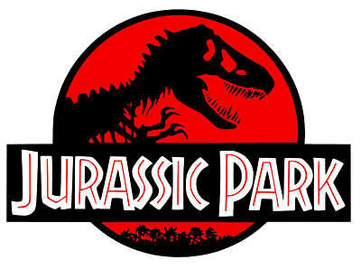 Jurassic Park Colored Vinyl Decal / Sticker • 8.99£