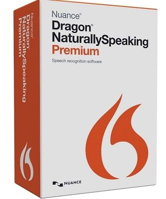 Nuance Dragon Naturally Speaking Premium 13 Full Version - Instant Download • 9.99£