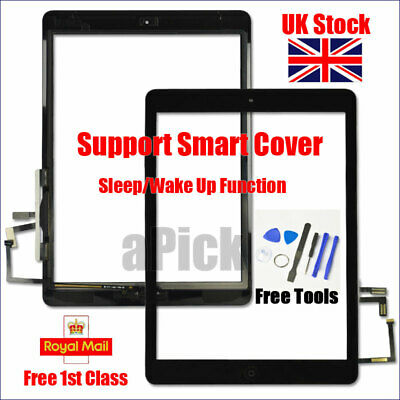 For IPad 5 Air 1 A1474 A1475 A1476 Black Touch Screen Replacement Digitizer Tool • 13.94£