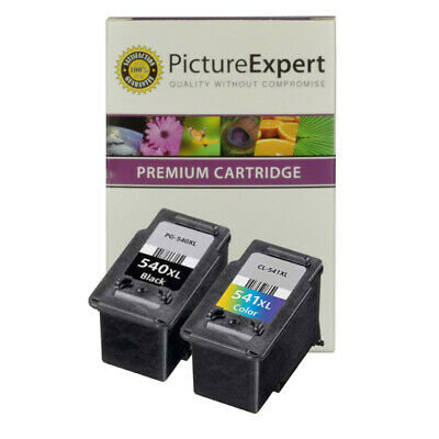 Compatible PG 540 CL 541 XL Black & Colour High Capacity Inks For Canon Printers • 28.90£