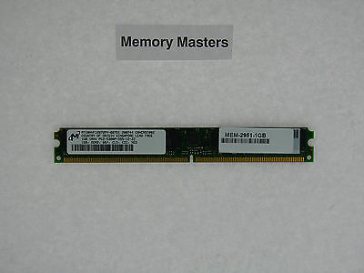 MEM-2951-1GB 1gb Approved DRAM MEMORY CISCO ROUTER 2951 • 21.95£