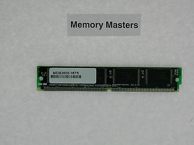 MEM2600-16FS 16MB Approved Flash Memory For Cisco 2600 • 26.50£