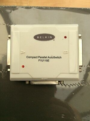 Belkin Parallel Auto Switch F1U115E • 6.99£