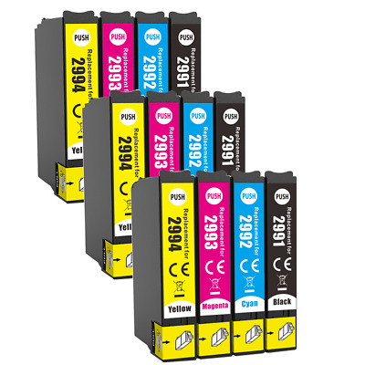 12 Ink Cartridge For Epson XP235 245 247 255 257 332 335 342 345 352 355 432 435 • 9.29£