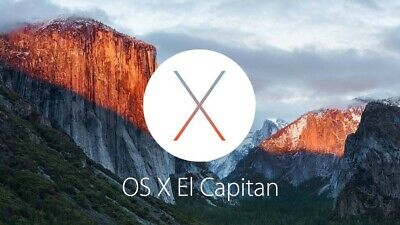 OSX 10.11.6 (EL CAPITAN) Bootable Install USB - Easy System Recovery / Install • 9.99£