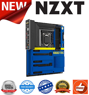 NZXT Z390 Vault Boy Cover Limited Edition Motherboard Cover • 64.99£