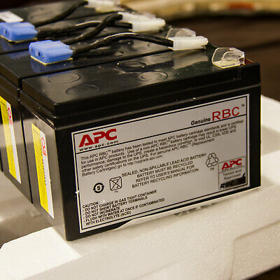 APC Replacement Battery Cartridge RBC8 Genuine UPS Plug-in Module Spill-proof  • 99.99£