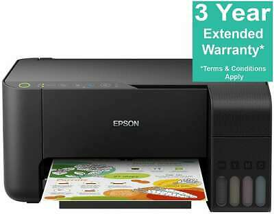 Epson EcoTank ET-2710 A4 Colour Inkjet Multifunction Printer Scan Copy Wireless • 180£