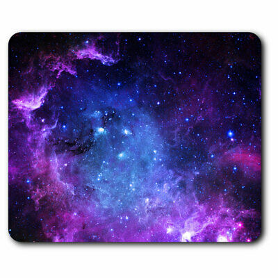 Computer Mouse Mat - Awesome Purple Galaxy Space NASA Office Gift #8924 • 5.99£