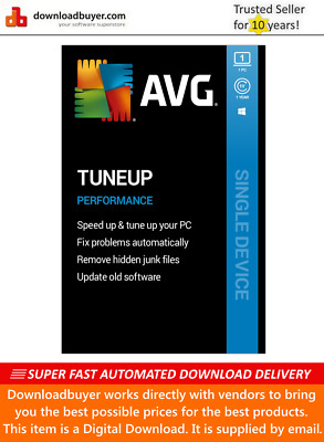 AVG PC TuneUp 2020 - 1 PC - 1 Year [Download] • 8.49£