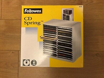 Brand New Boxed!!! Fellowes CD Spring Media Storage • 26£