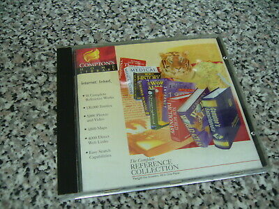 Compton's Home Library Complete Reference Collection  PC CDROM • 2.75£