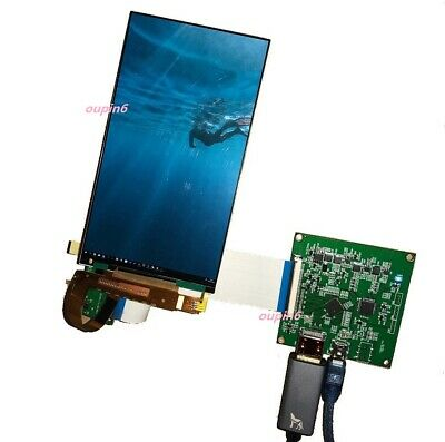 5.5  IPS 1440x2560 LCD LED Panel LS055R1SX04 + HDMI To MIPI Controller Board Kit • 59.90£
