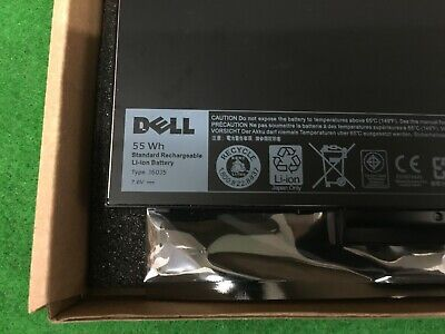 New Genuine Dell Latitude E7270 E7470 Battery 55wh J60j5 1w2y2 242wd Mc34y Gg4fm • 64.50£