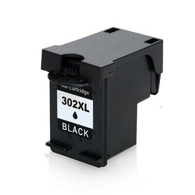302XL Compatible Text Quality Black Ink Cartridge Pack For HP Envy 4527 • 16.90£