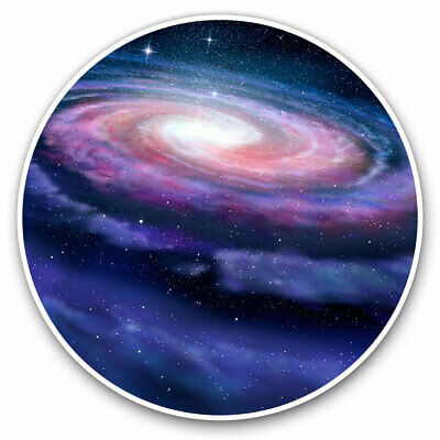 2 X Vinyl Stickers 10cm - Awesome Galaxy Milky Way Space Cool Gift #8488 • 2.49£