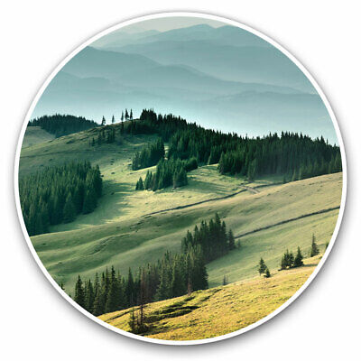 2 X Vinyl Stickers 30cm - Landscape Countryside Hills Cool Gift #3683 • 8.99£