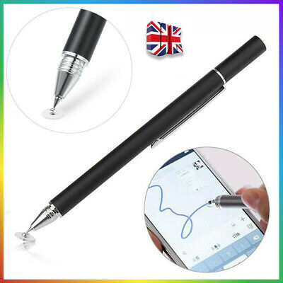 Thin Capacitive Touch Screen Pen Stylus For IPhone IPad Samsung Phone Tablet • 3.99£