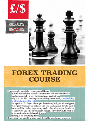 FOREX COURSE, Forex System, Forex Indicator. 2 Days Training Plus Mentoring.  • 145£