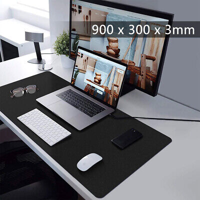 Extra Large XXL Gaming Mouse Pad Mat For PC Laptop Macbook Anti-Slip 900x300mm • 5.99£