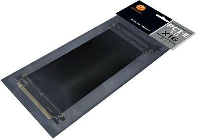 Thermaltake PCI-E 3.0 Extender X16 Gaming Modding 200mm  Riser Cable BRAND NEW • 20£